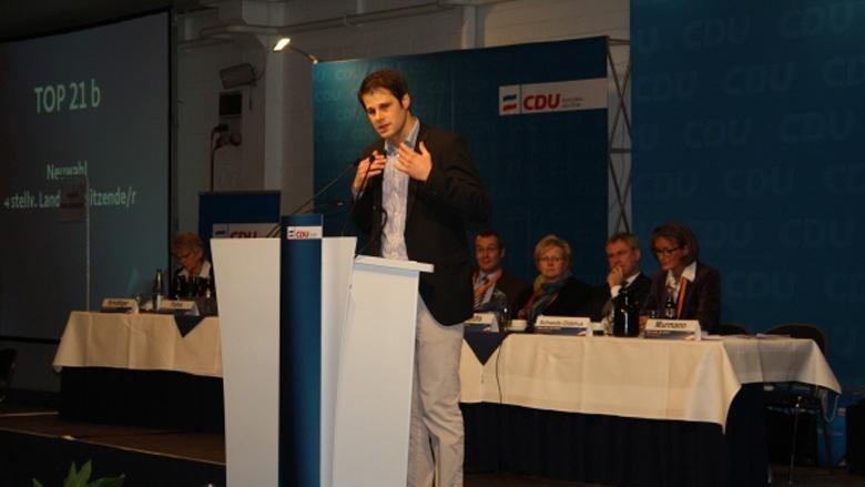 CDU-Parteitag: Frederik Heinz