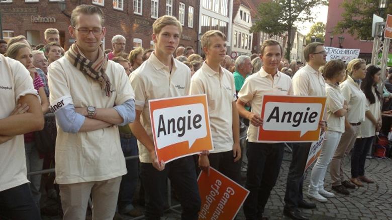JUler im Einsatz für Merkel - bald auch mit Albig?