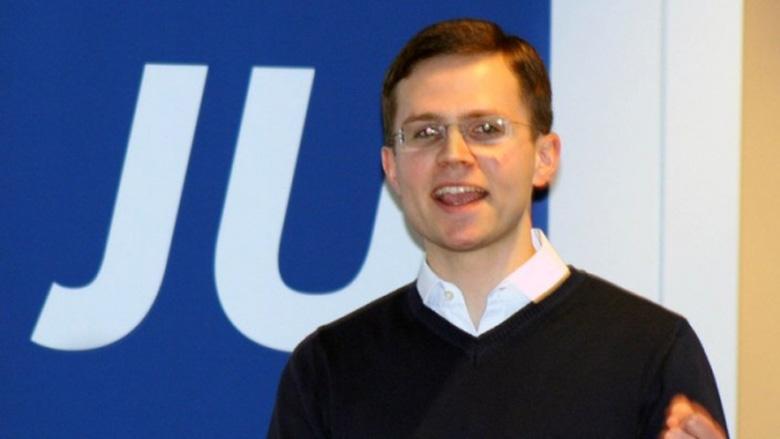 Der neue Kreisvorsitzender Nicolas Sölter.